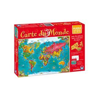 dujardin puzzle 330 pcs carte du monde autre puzzle. Black Bedroom Furniture Sets. Home Design Ideas