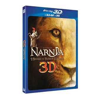 Le Monde de NarniaLe Monde de Narnia 3 : L'Odyssée du passeur d'aurore Blu-ray 3D