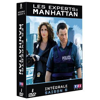 Les Experts ManhattanCoffret intégral de la Saison 6
