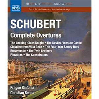 COMPLETE OVERTURES/BLURAY