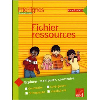 fichier ressources interlignes cm1