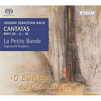 Cantates volume 7 - BWV 20 2 et 10