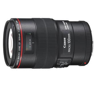 Objectif reflex Canon EF 100 mm f/2.8 L Macro IS USM