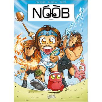 livre bd noob
