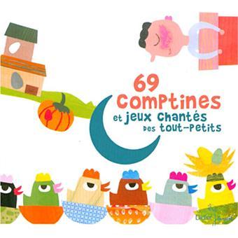69 comptines et jeux chant s des tout petits cd cd album en compilation musiques pour enfant. Black Bedroom Furniture Sets. Home Design Ideas