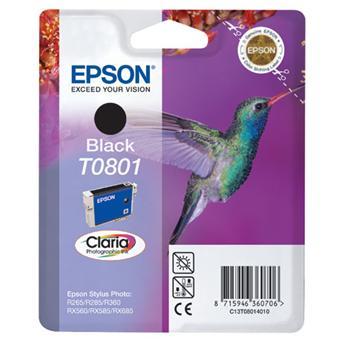 Cartouche d'encre Epson Claria T0801 Colibri - Noir