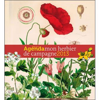 Agenda 2013 mon herbier de campagne