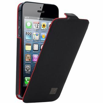 97de77230f16 Kenzo Etui cuir Chik pour iPhone 5 - Noir - Etui pour téléphone ...