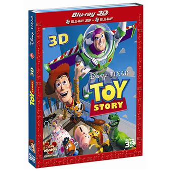 Toy StoryToy Story - Blu-Ray - Versions 2D et 3D Active