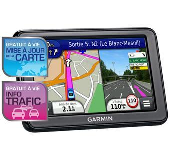 Gps Garmin Nuvi 2445 Lmt Reconditionne Gamme Advance Europe Gratuits A Vie Mise A Jour De La Carte Info Trafic Gps Auto Achat Prix Fnac