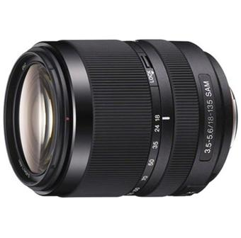 Sony DS-reflexlens 18 - 135 mm f / 3.5 - 5.6 SAM