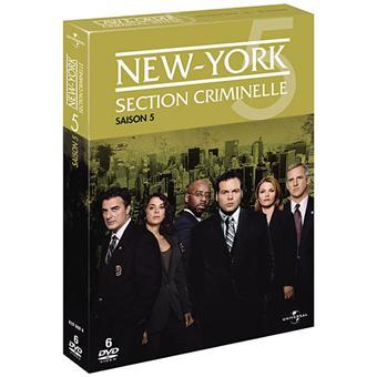 New York Section CriminelleNew York Section Criminelle - Coffret intégral de la Saison 5