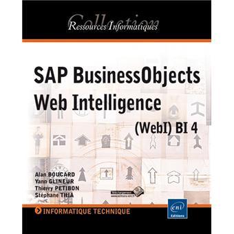 Sap business objects Web intelligence (webi) bi 4