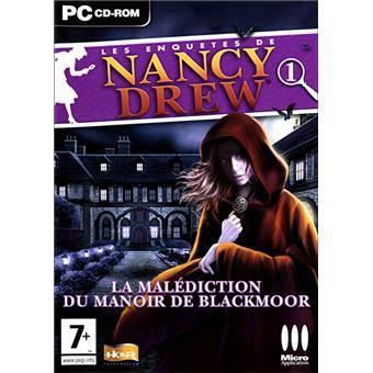 nancy drew la malédiction du manoir de blackmoor