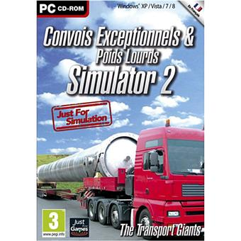 convoi exceptionnel simulator 2013 sur pc jeux vid o achat prix fnac. Black Bedroom Furniture Sets. Home Design Ideas