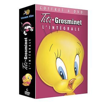 Titi et GrosminetTITI & GROSMINET-COFFRET-6 DVD-VF
