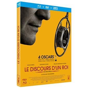 Le Discours d'un Roi - Combo Blu-Ray + DVD