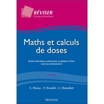 Maths et calculs de doses Cours et exercices corriges ...
