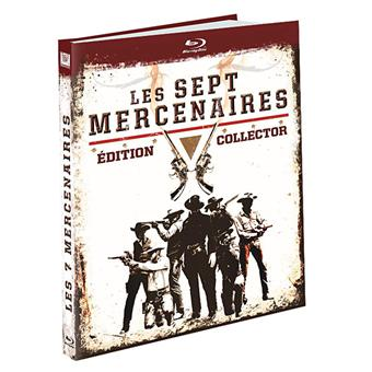Les sept mercenaires Edition Collector Blu-ray Inclus DVD
