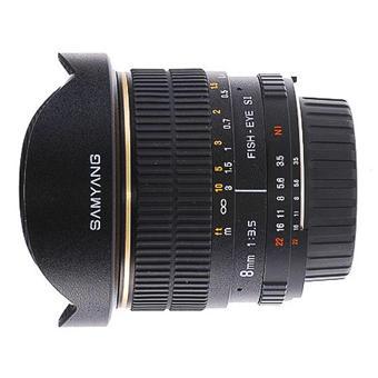 Samyang Fish-eye 8 mm f/3.5 Aspherical IF MC, Monture Olympus Type 4:3