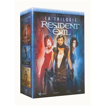 Resident Evil - Coffret de la Trilogie - Blu-Ray
