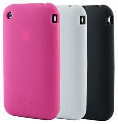 Muvit Pack de 3 coques Silicone pour iPhone 3G 3Gs