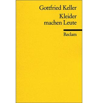 Kleider Machen Leute Broche Gottfried Keller Achat Livre Ou