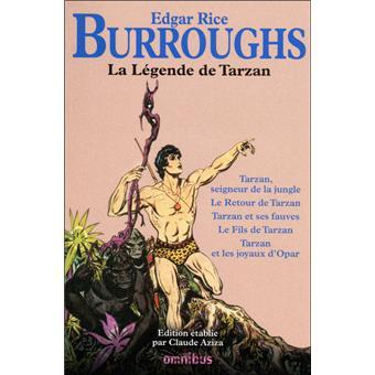 La légende de Tarzan, Burroughs