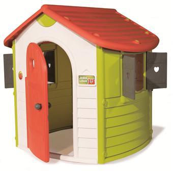 maison de jardin smoby jura lodge maisons de jardin. Black Bedroom Furniture Sets. Home Design Ideas