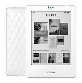 Liseuse numérique Kobo by Fnac - Kobo Touch Blanc/Blanc