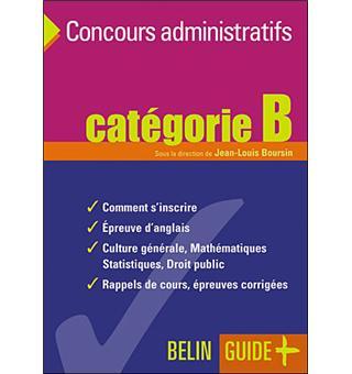 81119aa10a7 Guide des concours administratifs catégorie B Catégorie B - broché ...