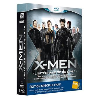 X-MenX-Men - L'intégrale - Coffret Blu-Ray 5 Films - Edition Spéciale Fnac