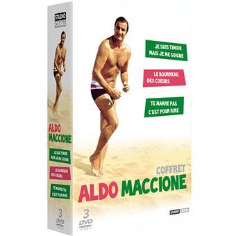 ALDO MACCIONE-COFFRET-3 DVD-VF