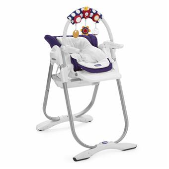 Chicco chaise haute polly magic purple rain achat - Chaise haute bebe chicco polly magic ...