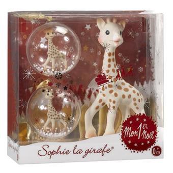 Vulli Coffret Mon 1er Noel Sophie, la girafe   Hochet   Achat