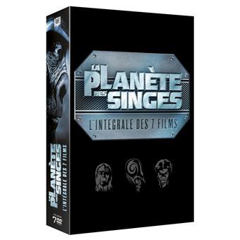 La planète des singesCoffret La Planète des Singes L'intégrale 7 Films DVD