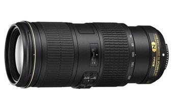 Nikon AF-S FX 70-200mm f/4 G-Series Nikkor ED VR Reflex Lens