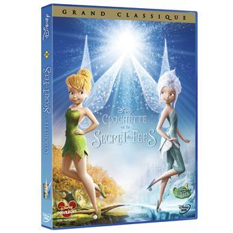 Fée ClochetteClochette et le Secret des Fées DVD