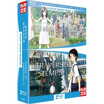 B-TRAVERSEE DU TEMPS+SUMMER WARS BUNDLE-2 DISC-VF
