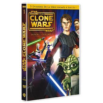 Star Wars : The Clone WarsSaison 1 - Volume 1