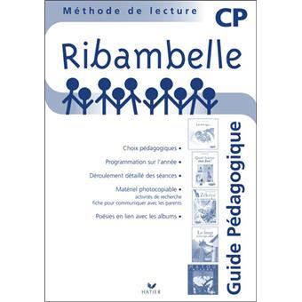 Ribambelle CP série bleue éd. 2008 - Guide pédagogique ...
