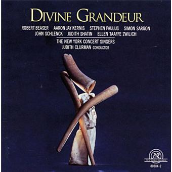 NY Concert Singers : Divine Grandeur