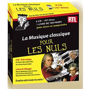 La musique classique pour les nuls Compilation Classique CD album Achat & prix fnac