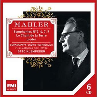 Mahler: Symphonies 2, 4, 7, 9; Lieder