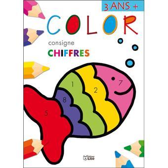 Color consigne les chiffres