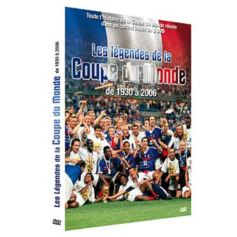 Les l gendes de la coupe du monde de football de 1930 2006 coffret dvd zone 2 achat - Musique coupe du monde 2006 ...