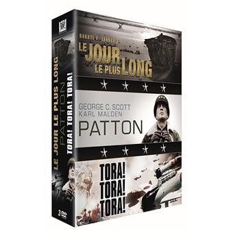 Le Jour le plus long - Patton - Tora ! Tora ! Tora ! - Coffret