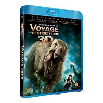 Voyage au centre de la Terre 3D - Edition Collector - Blu-Ray