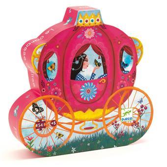 Djeco Puzzle Le carosse d'Elise 54 pcs