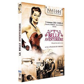 La belle aventurière DVD